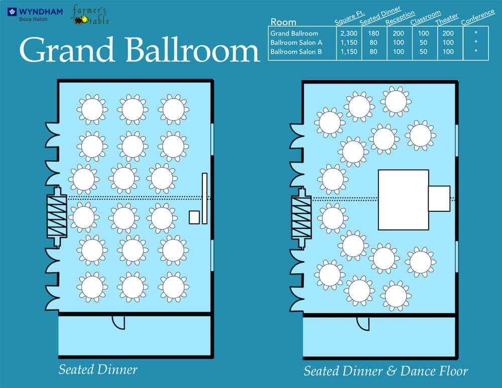 Floor Plans Grand Ballroom 1
